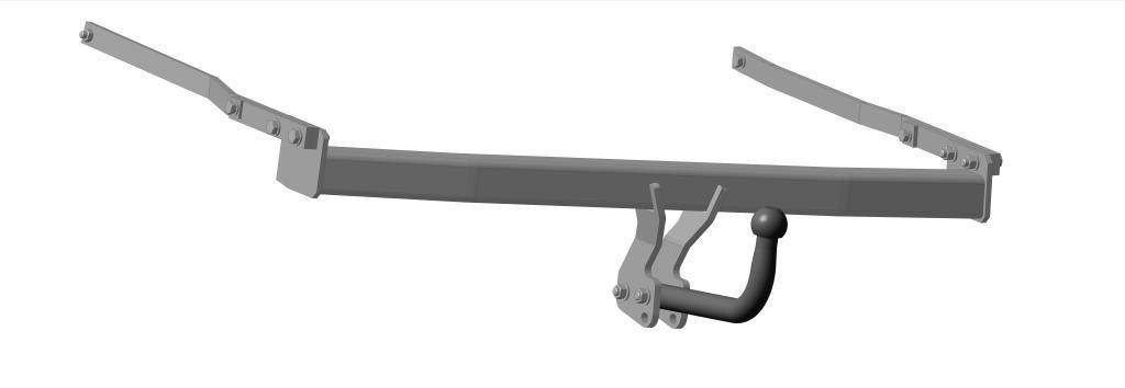 Фаркоп Bosal, для Renault Megane II 2000/01-2008/111420-AФаркоп Bosal предназначен для крепления к автомобилю Renault Megane II. Тип шара А - это съемный кованый шар с 2 отверстиями. Стандартный шар на двух болтах - это практичный и наиболее используемый вариант. Шар крепится с помощью болтов, что дает возможность при необходимости снять его. Допустимая горизонтальная нагрузка: 1100 кг, вертикальная: 50 кг.