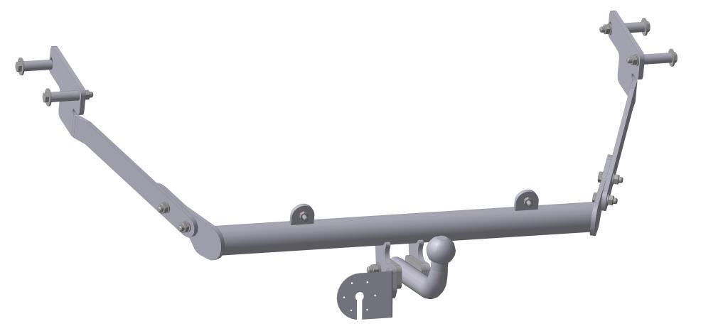 Фаркоп Bosal, для Peugeot Partner/Citroen Berlingo 1996-2527-AФаркоп Bosal предназначен для крепления к автомобилям Peugeot Partner/Citroen Berlingo. Тип фаркопа А - это съемный кованый шар с 2 отверстиями. Стандартный шар на двух болтах - это практичный и наиболее используемый вариант. Шар крепится с помощью болтов, что дает возможность при необходимости снять его. Допустимая горизонтальная нагрузка: 1100 кг, вертикальная: 75 кг.