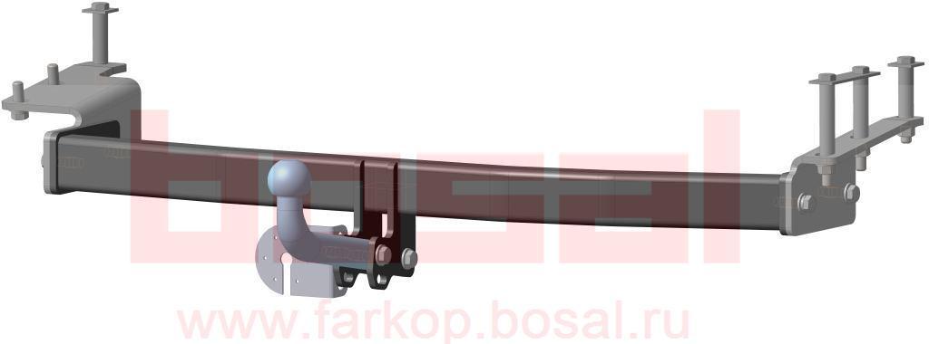 Фаркоп Bosal, для Lifan Solano Sedan 2008-, без электрики3309-AФаркоп Bosal предназначен для крепления к автомобилю Lifan Solano. Тип фаркопа А - это съемный кованый шар с 2 отверстиями. Стандартный шар на двух болтах - это практичный и наиболее используемый вариант. Шар крепится с помощью болтов, что дает возможность при необходимости снять его. Допустимая горизонтальная нагрузка: 1200 кг, вертикальная: 60 кг.