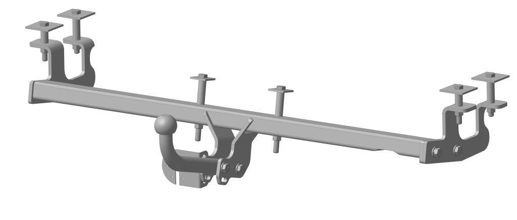 Фаркоп Bosal, для Газ Volga 3110, 31105 1997-3806-AФаркоп Bosal предназначен для крепления к автомобилю Gaz Volga. Тип фаркопа А - это съемный кованый шар с 2 отверстиями. Стандартный шар на двух болтах - это практичный и наиболее используемый вариант. Шар крепится с помощью болтов, что дает возможность при необходимости снять его. Допустимая горизонтальная нагрузка: 1300 кг, вертикальная: 75 кг.