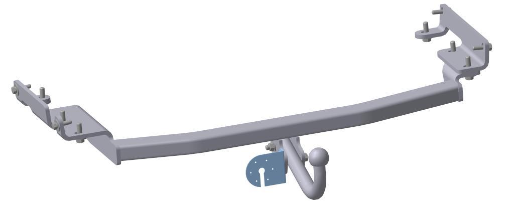 Фаркоп Bosal, для Nissan Murano 2008/08-4365-AФаркоп Bosal предназначен для крепления к автомобилю Nissan Murano. Тип шара А - это съемный кованый шар с 2 отверстиями. Стандартный шар на двух болтах - это практичный и наиболее используемый вариант. Шар крепится с помощью болтов, что дает возможность при необходимости снять его. Допустимая горизонтальная нагрузка: 1500 кг, вертикальная: 75 кг. В изделии применяется новый экологически безопасный способ окраски, исключает коррозию изделия даже при повреждении наружного слоя покрытия.