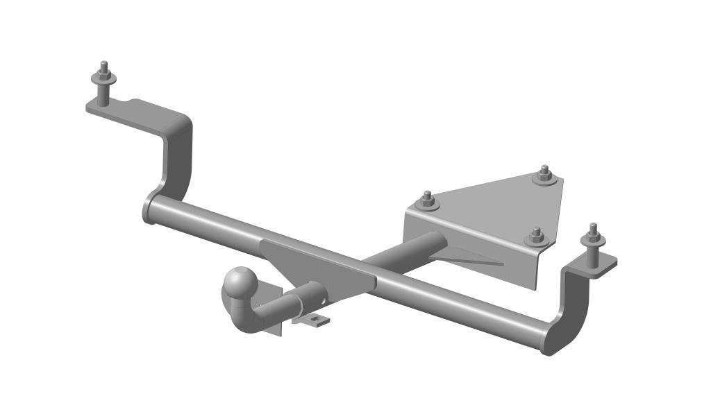 Фаркоп Bosal, для Lada Priora 21703, 2110-2112 2000-1226-HФаркоп Bosal предназначен для крепления к автомобилю Lada Priora. Тип шара Н - сварной шар, полностью не разборная конструкция. Шар (крюк) приварен к балке фаркопа. Допустимая горизонтальная нагрузка: 800 кг, вертикальная: 75 кг.