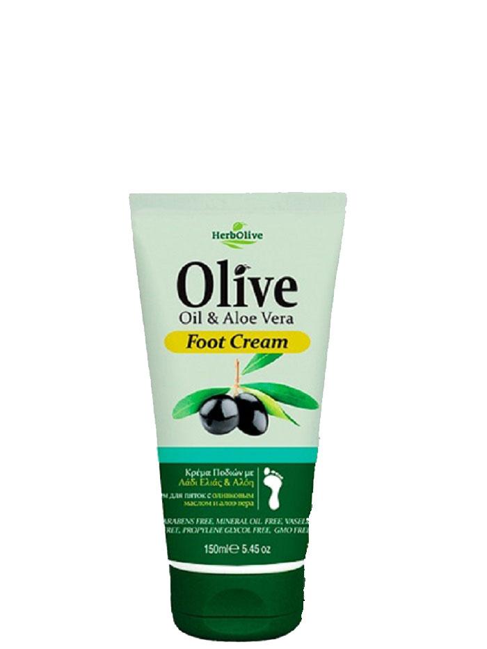 Herbolive Крем для ног с алоэ-вера, 150 мл5200310401206Крем для ног увлажняющий с алоэ и маслом оливы. Легко впитывается вкожу, дарит ногам ощущение свежести и глубокую гидратацию. Содержит органическое оливковое масло и алоэ вера. Косметика произведена в Греции на основе органического сырья, НЕ СОДЕРЖИТ минеральные масла, вазелин, пропиленгликоль, парабены, генетически модифицированные продукты (ГМО)Как ухаживать за ногтями: советы эксперта. Статья OZON Гид