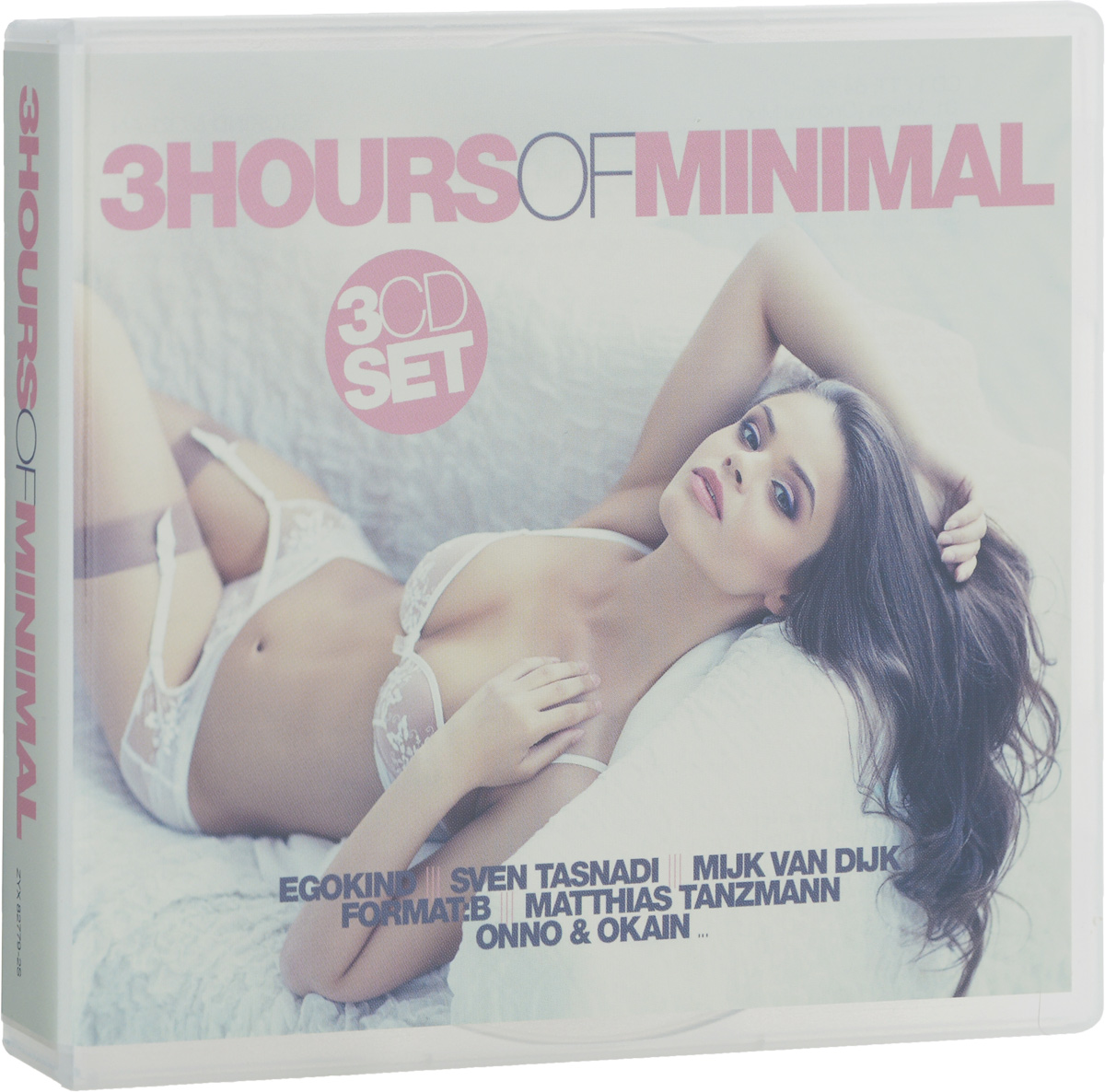 3 Hours Of Minimal (3 CD) minimal house 3 2 cd