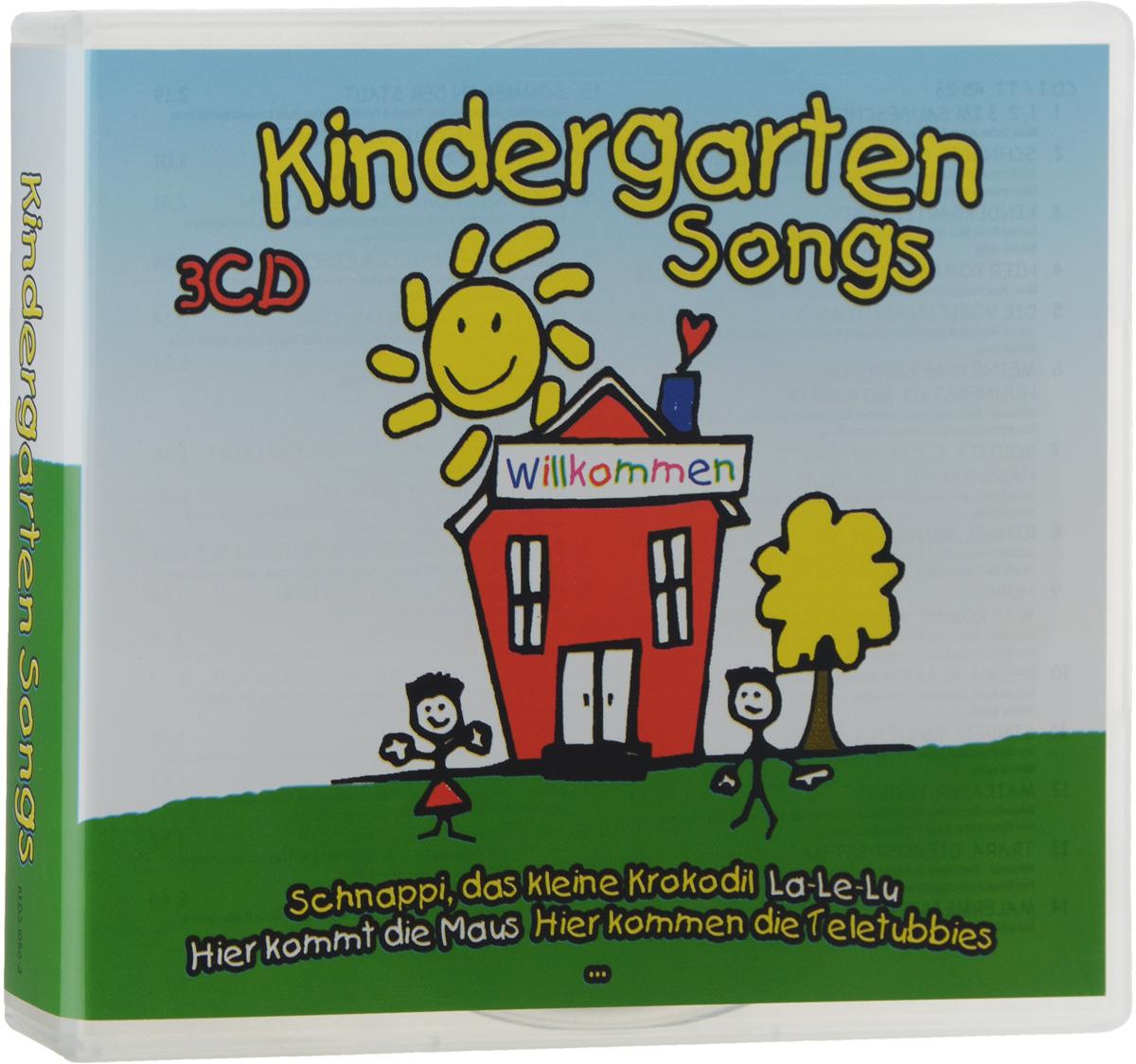 Kindergarten Songs (3 CD) eng adventure 4 songs cd x 1