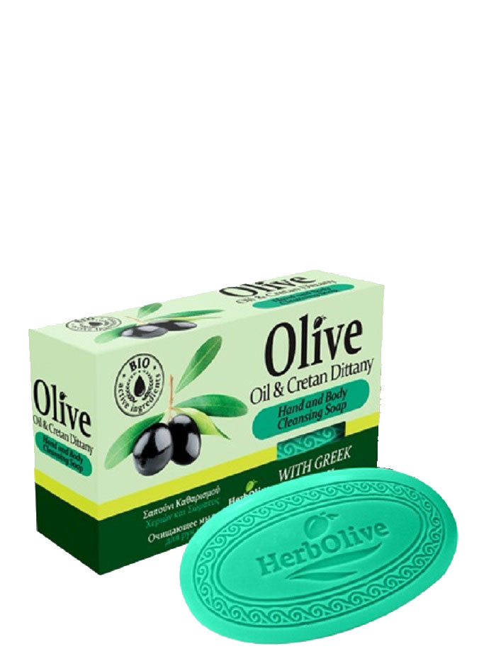 HerbOlive Оливковое мыло с диктамосом (критская душица) 90 г