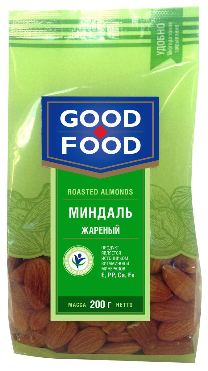 Good Food миндальжареный,200г