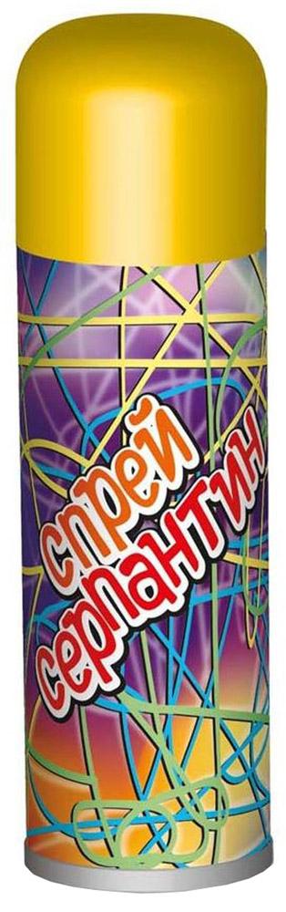 B&H Карнавальный спрей Серпантин цвет желтыйBH0908_желтыйКарнавальный спрей B&H Серпантин отлично подойдет для любого праздника. Спрей-серпантин падает длинными разноцветными нитями и распыляется с расстояния не менее 1,5 м. Легко смывается водой. Объем баллона: 250 мл.