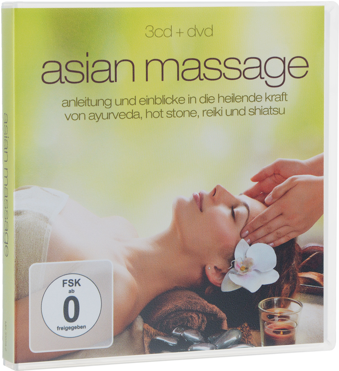 Yuma Haruto Paliashvili Asian Massage (3 CD + DVD) дутики der spur der spur de034amde817