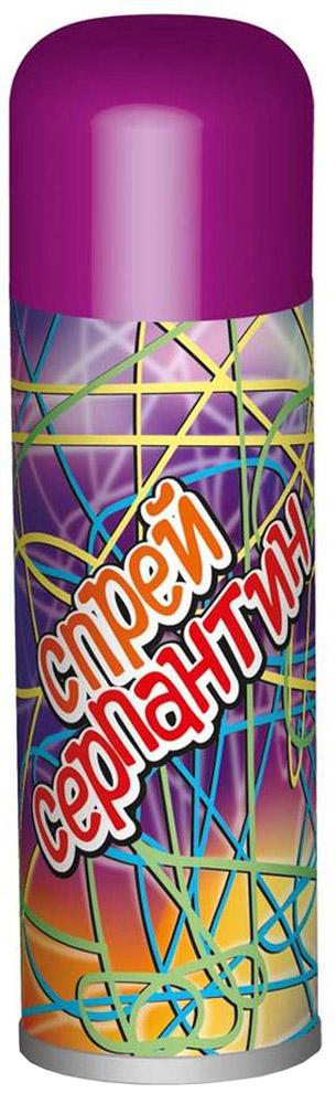 B&H Карнавальный спрей Серпантин цвет фиолетовыйBH0908_фиолетовыйКарнавальный спрей B&H Серпантин отлично подойдет для любого праздника. Спрей-серпантин падает длинными разноцветными нитями и распыляется с расстояния не менее 1,5 м. Легко смывается водой. Объем баллона: 250 мл.