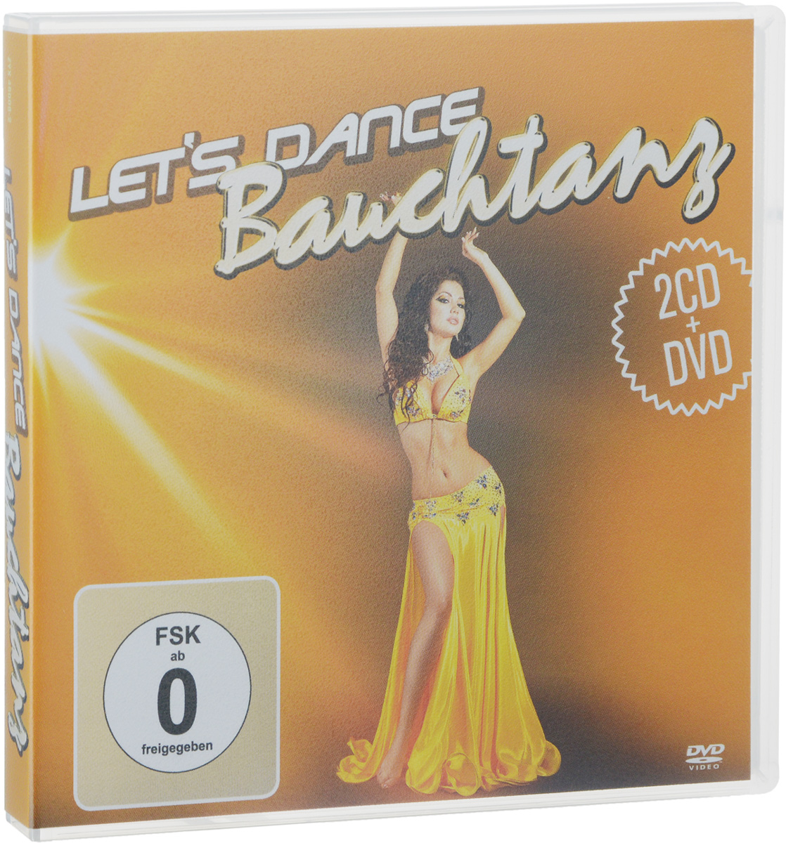 The Sout El Hob Band Let's Dance. Bauchtanz (2 CD + DVD) дутики der spur der spur de034awkyw71