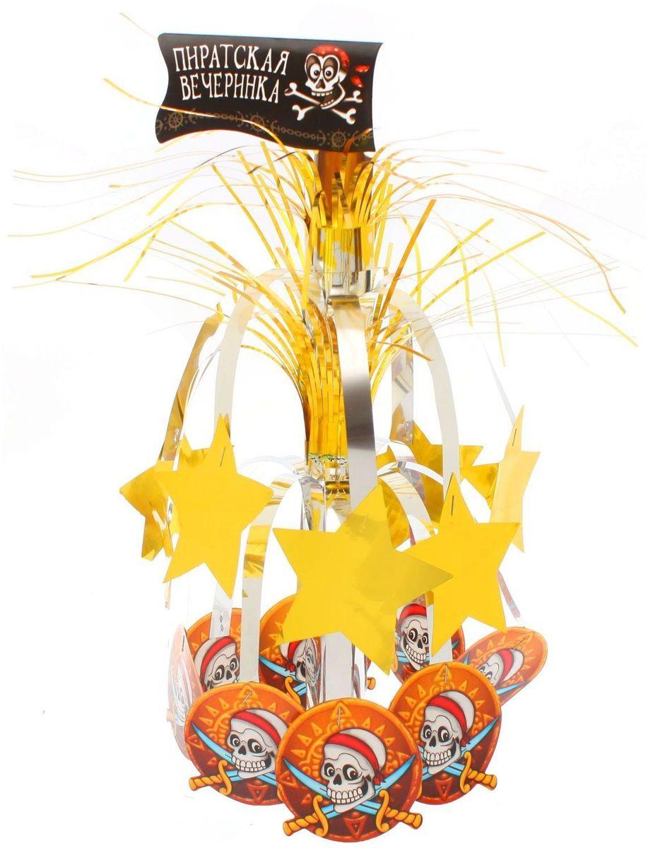 Страна Карнавалия Каскад с подставкой Пиратская вечеринка земленыр или каскад приключений