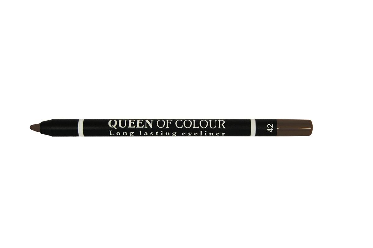 Ninelle Карандаш для глаз Queen Of Colour №42740N10449Высокая концентрация пигментов создает насыщенный цвет, который делает образ более ярким и индивидуальным. Таким карандашом можно выполнить как дневной, так и вечерний макияж.Новая формула с витамином Е способствует идеально мягкому нанесению карандаша на веки. Он прекрасно растушевывается и превосходно держится на веках в течение всего дня. Для создания более глубокого образа не ждите пока карандаш зафиксируется, а сразу приступайте к растушевке его границ.