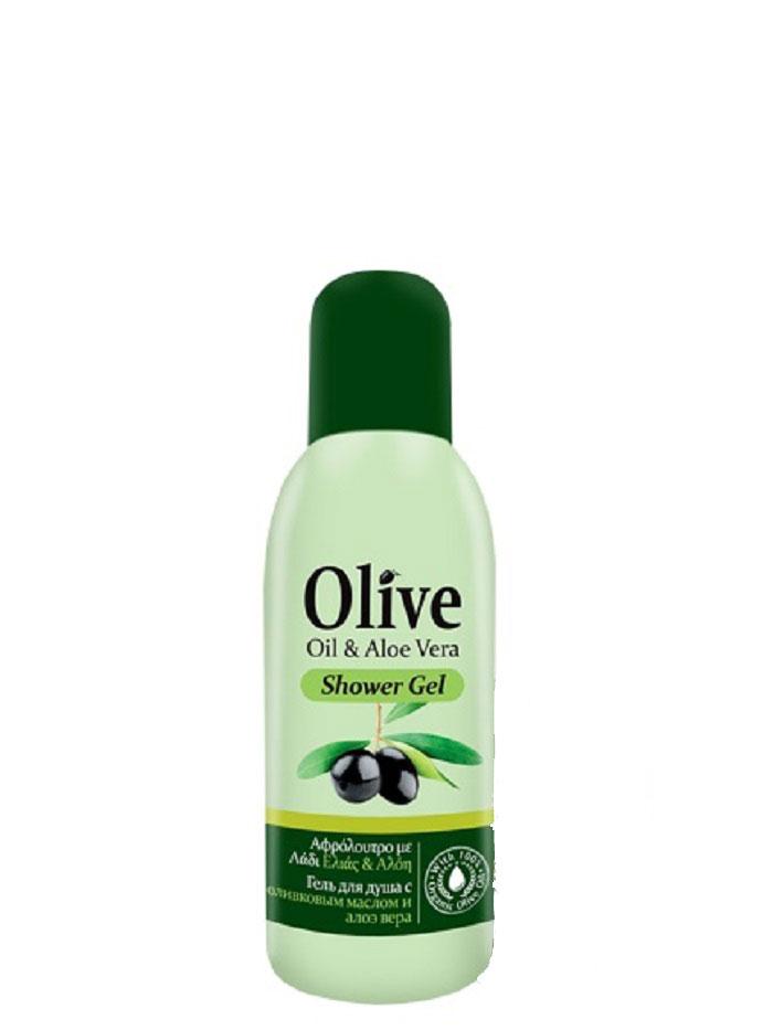 HerbOlive Мини гель для душа с алоэ вера 60 мл косметика для мамы vitamin гель для душа 5 цветов 650 мл