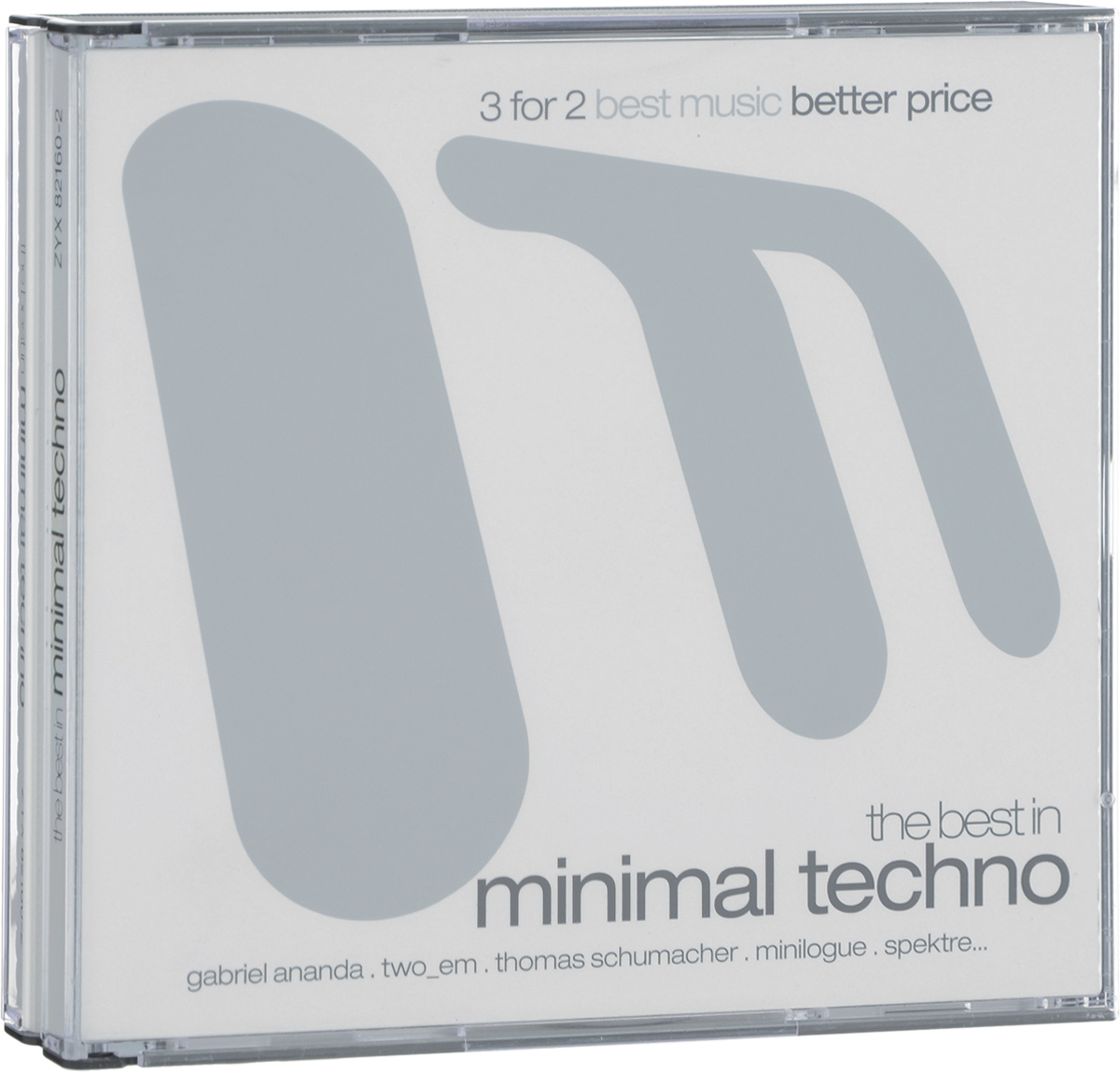The Best In Minimal Techno (3 CD)