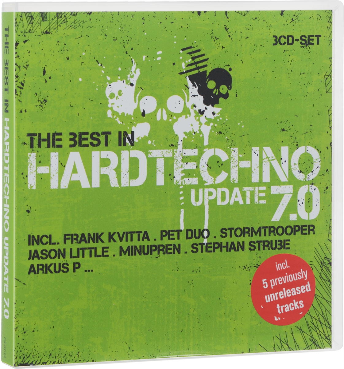 The Best In Hardtechno. Update 7.0 (3 CD) корм для собак monge fresh ягненок конс 100г