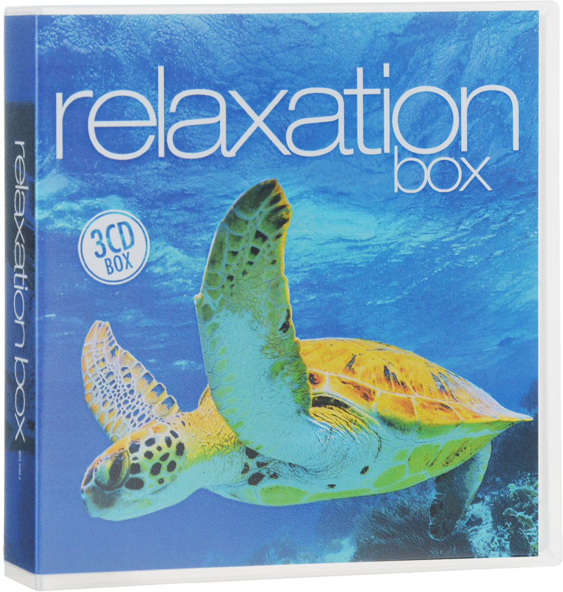 Relaxation Box (3 CD) 3 drawer stylish craft paper storage box with 3 inside pockets for office file jewelry cd bill photo organizing desk set