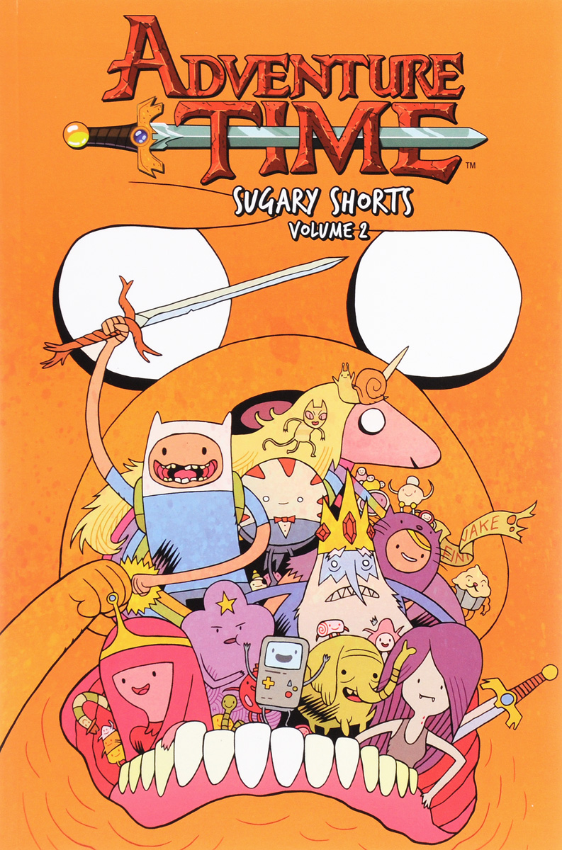 Adventure Time: Sugary Shorts: Volume 2 vampire hunter d volume 8 mysterious journey to the north sea part two