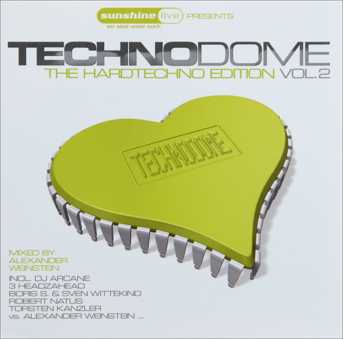 Techno Dome. The Hardtechno Edition (2 CD)