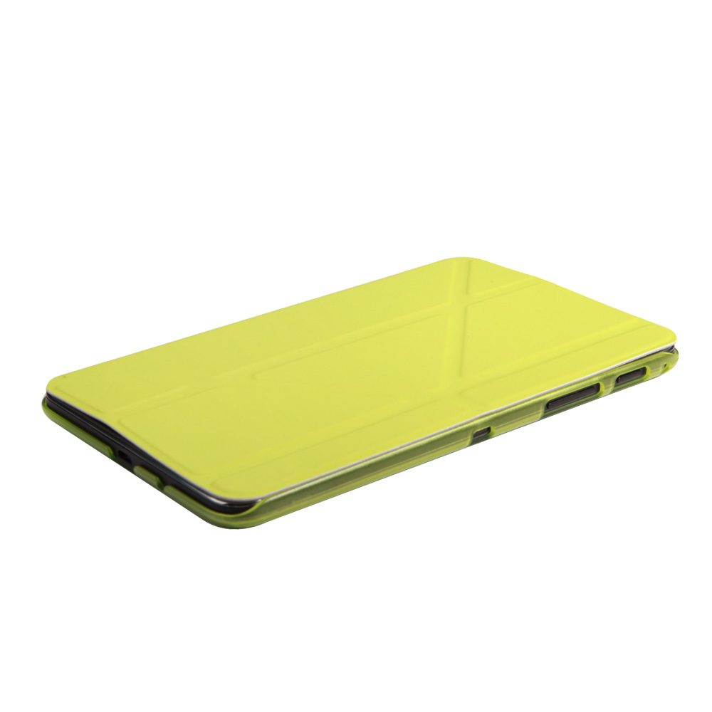 IT Baggage Hard Case чехол для Samsung Galaxy Tab A 7.0 SM-T285/SM-T280, Lime аксессуар чехол it baggage for samsung galaxy tab a 7 sm t285 sm t280 иск кожа white itssgta70 0