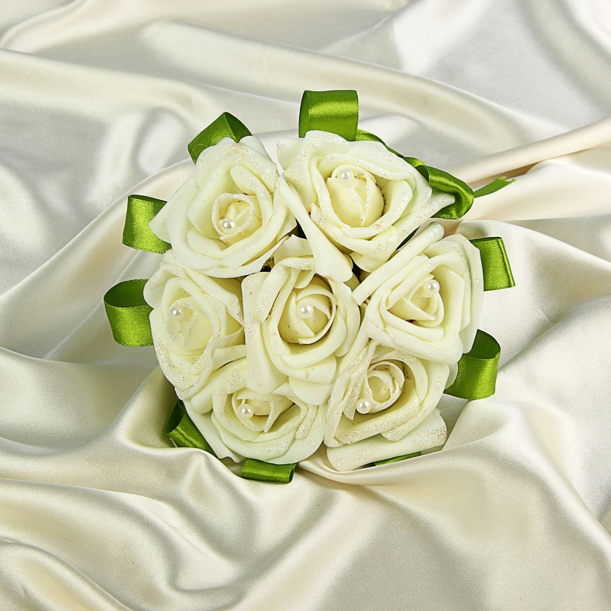 Букет-дублер  Sima-land , цвет: белый. 1270821