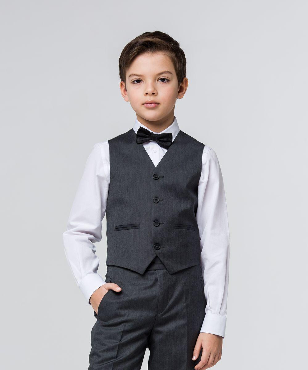 Жилет для мальчика Silver Spoon, цвет: темно-серый. SSFSB-629-13303-806. Размер 152
