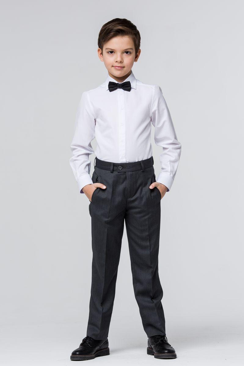Брюки для мальчика Silver Spoon, цвет: темно-серый. SSFSB-629-16002-806. Размер 164