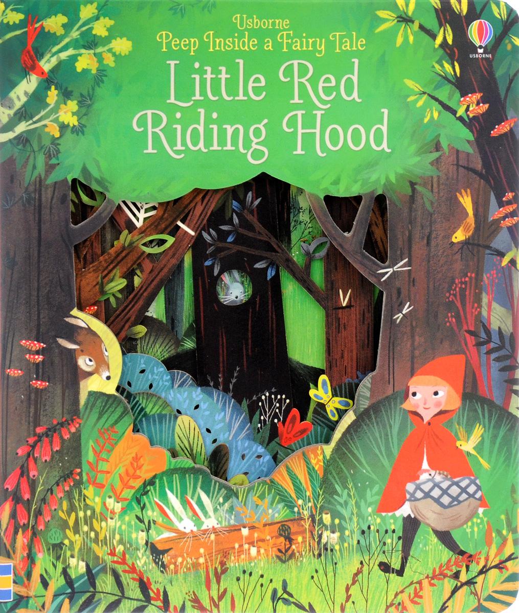 Peep Inside a Fairy Tale Little Red Riding Hood peep inside the garden