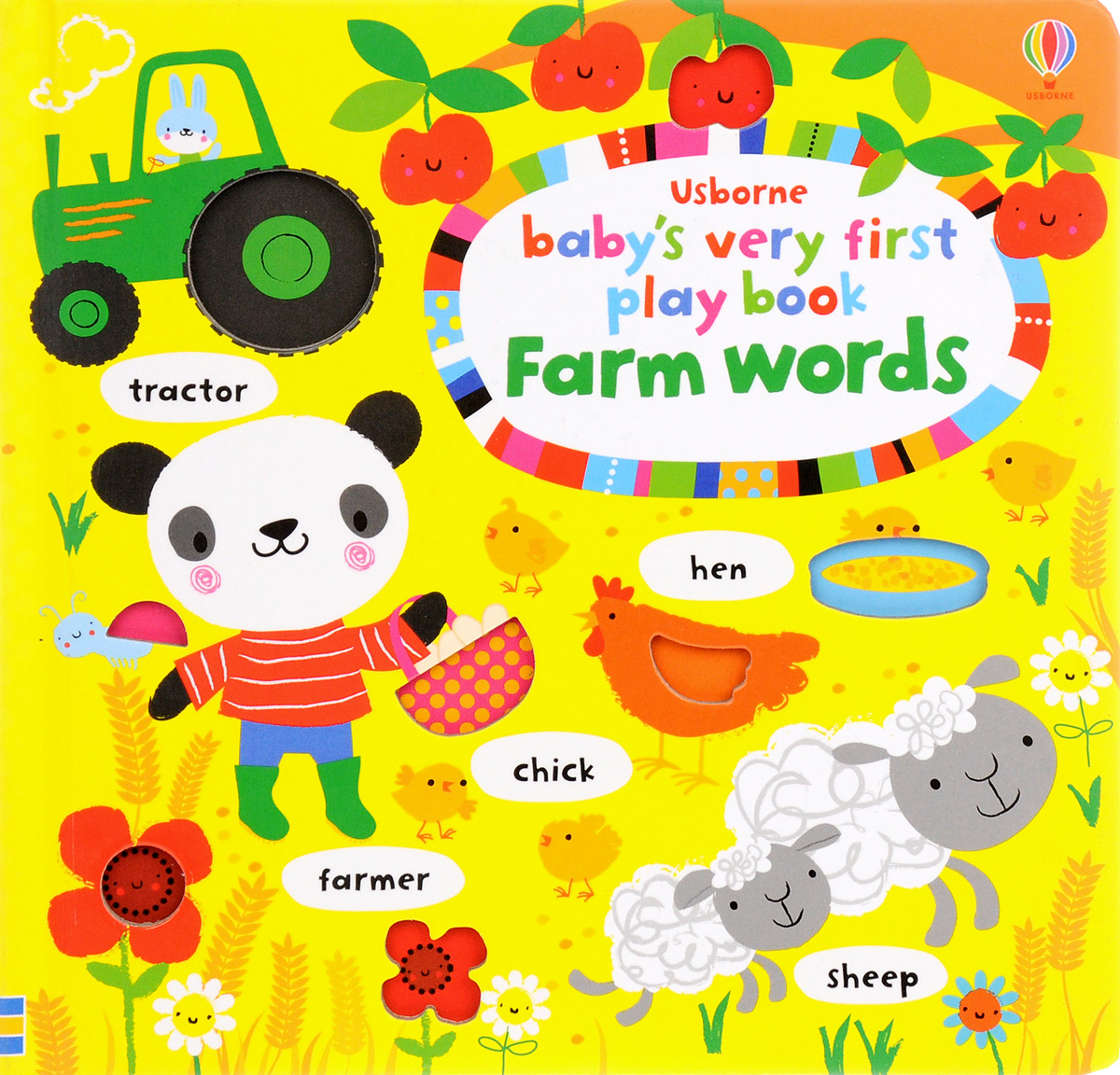 Baby's Very First Play book Farm words maisy s farm sticker book