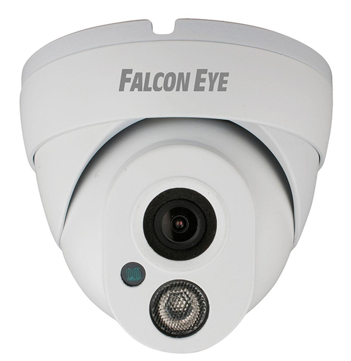 Falcon Eye FE-IPC-DL200P уличная IP-камераFE-IPC-DL200PНовая 2-мегапиксельная сетевая видеокамера Falcon Eye FE-IPC-DL200P выполнена на CMOS матрице 1/2.8 Sony CMOS с разрешением 2,43 мегапикселя. На камере установлен 5-мегапиксельный объектив с фиксированным фокусным расстоянием 3,6 мм. Камера выполнена в миниатюрном металлическом корпусе и способна выдавать в сеть видеопоток с разрешением 1920 х 1080Р. Возможность работать по Poe и аналоговый видеовыход являются дополнительным бонусом устройства.Скоростьзатвора: 1/25 - 1/10000День/Ночь: Авто/Ч/Б/Цвет/Внешняя подсветкаФункции: DWDR, Mirror, 3D NR, настройки изображенияКодирование: два потока, основной поток:1920 х 1080 25 к/сВидео битрейт: 16Kbps-8000KbpsПоддержкамобильных платформ IOS, AndroidПотребляемая мощность: менее 5 ВтКак выбрать камеру видеонаблюдения для дома. Статья OZON Гид