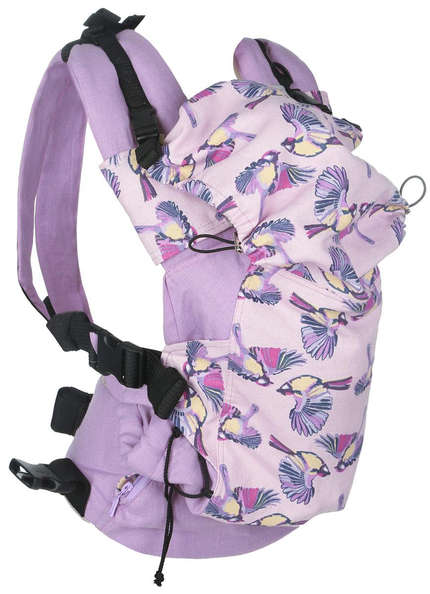 Мамарада Эрго-рюкзак Райский сад размер 42-52