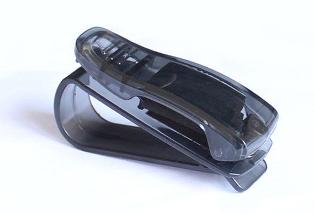 Держатель очков автомобильный Оранжевый Слоник, цвет: черныйACL0001TRДержатель для очков автомобильный крепится на козырек или зеркало заднего вида.Позволяет удобно хранить очки, ручки, карточки и прочее. Экономит место.