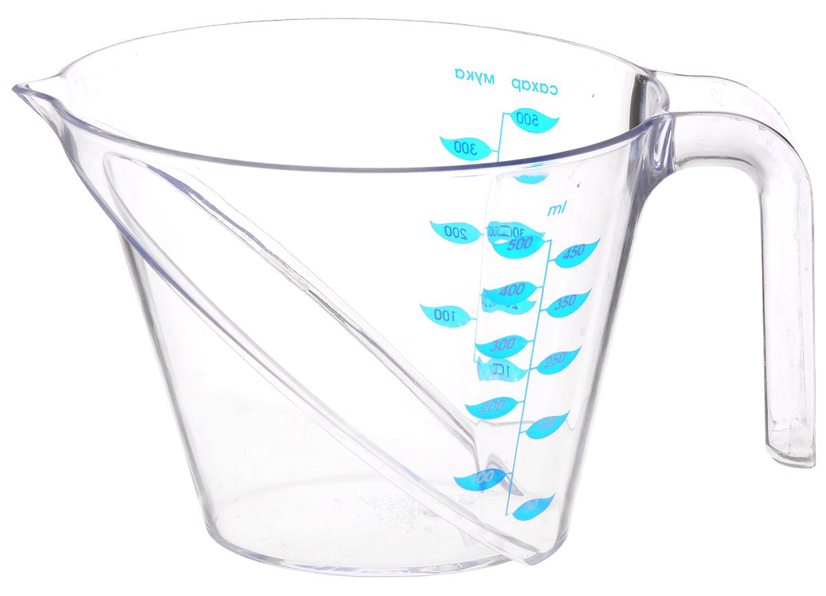 Кружка мерная Альтернатива Премьера, 500 млМ1692_прозрачныйМерная кружка Альтернатива Премьера выполнена из прозрачного пластикаовальной формы. Кружка поможет дозировать любые продукты и вещества. Онаоснащена удобнойручкой. Размер кружки (по верхнему краю): 17 х 11 см.