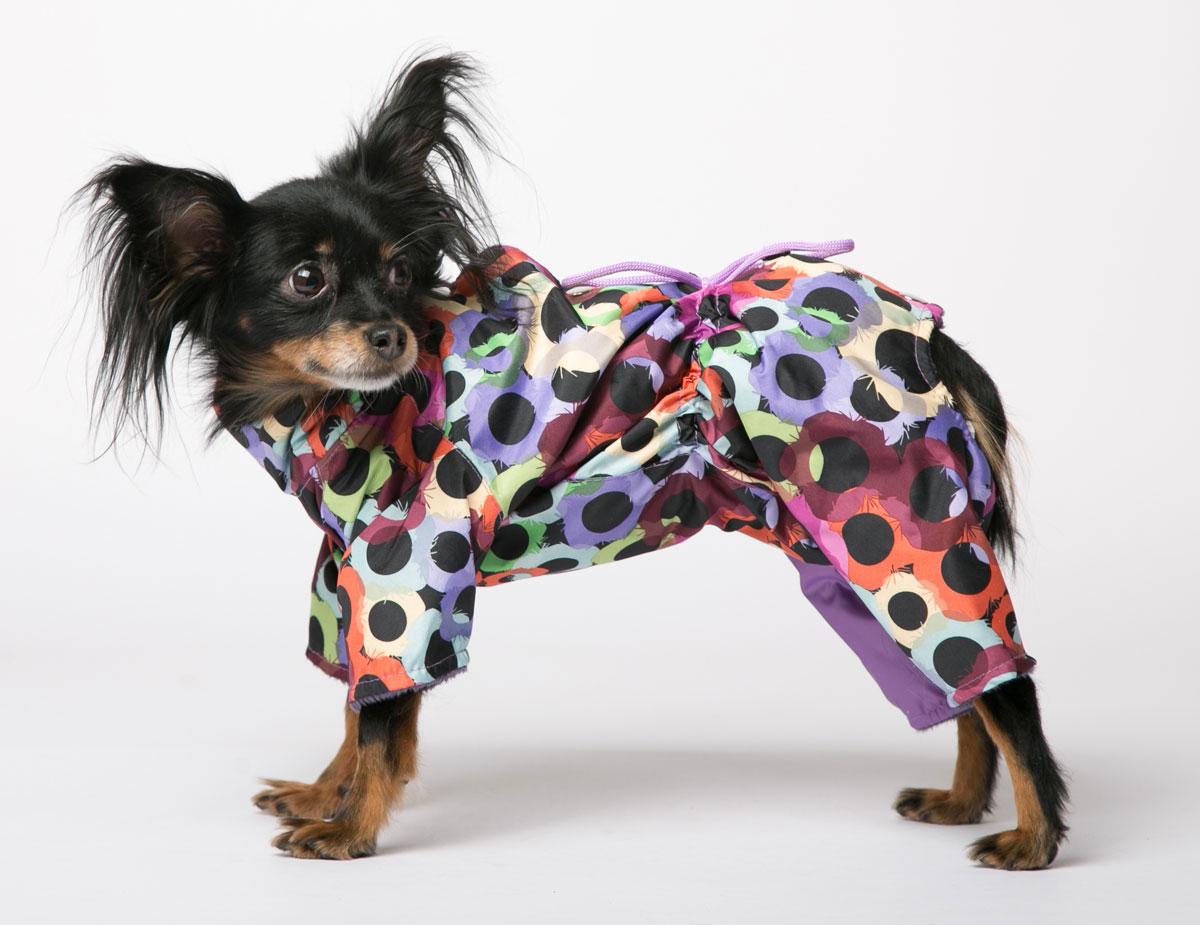 Комбинезон для собак Yoriki Маскарад, для девочки. Размер L347-23Комбинезон для собак Yoriki Маскарад отлично подойдет для прогулок в прохладную погоду осенью или весной. Верх комбинезона выполнен из водоотталкивающего полиэстера. Подкладка изготовлена из искусственного меха. Застегивается комбинезон на спине на кнопки и дополнительно на пояснице затягивается шнурком. Благодаря такому комбинезону вашему питомцу будет комфортно наслаждаться прогулкой.Обхват шеи: 27-31 см.Длина по спинке: 29 см.Объем груди: 41-47 см.Одежда для собак: нужна ли она и как её выбрать. Статья OZON Гид