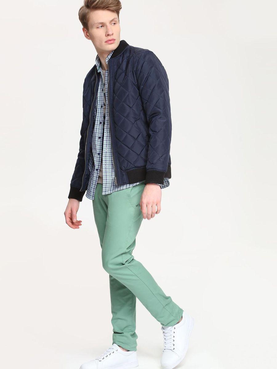 Брюки мужские Top Secret, цвет: нефритовый. SSP2154ZI. Размер 36 (52) брюки top secret брюки с карманами