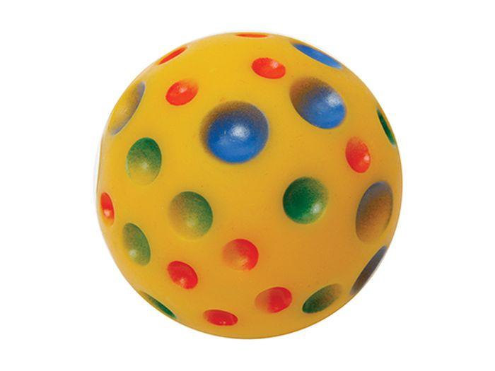 Игрушка для животных Каскад Мяч. Луна, резиновый, диаметр 6 см игрушка для животных каскад мячик пробковый цвет зеленый 3 5 см
