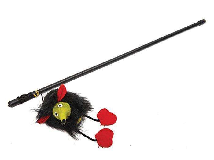 Игрушка для животных Каскад Удочка с Микки Маусом, 47 см игрушка для животных каскад мячик пробковый диаметр 3 5 см