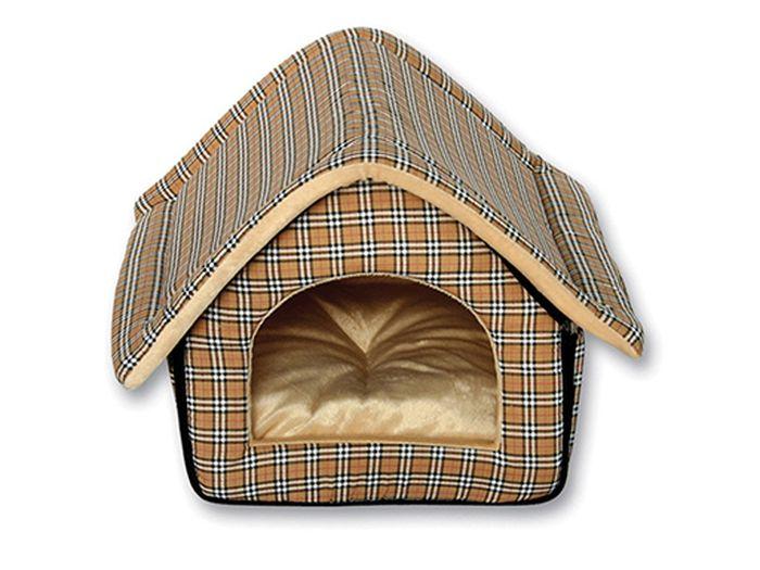 Домик-будка для животных Каскад, 37 х 33 х 33 см бра 22 х 33 х 33