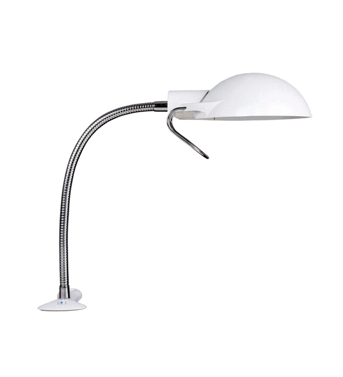 Лампа электрическая - клипса с креплением к столу.