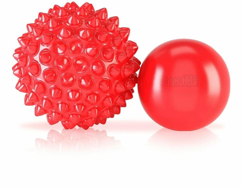 Массажные мячи Rocktape RockBalls, цвет: красный, 2 шт201Безусловно, два мяча лучше, чем один. Вам представлены один текстурный мяч и небольшой гладкий мяч. Эти два мяча позволят вам справиться с возникшим напряжением в ваших тканях. Мячи используют вместе со специальными корригирующими упражнениями и техниками, которые позволяют решить проблему, связанную с образовавшимся застоем в мягких тканях. В некоторых из случаев для того чтобы устранить застой в мышцах недостаточно массажного ролика, но RockBalls справятся с такой задачей.Диаметр мячей: 6,5 см, 9 см.Йога: все, что нужно начинающим и опытным практикам. Статья OZON Гид