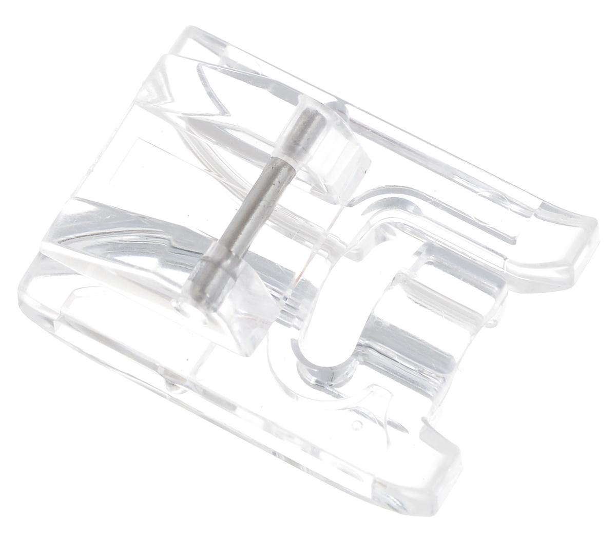 Лапка для швейной машины Aurora, для пришивания бисераAU-130Лапка для швейной машины Aurora предназначена для пришивания бисера и пайеток. Наличие углубления в лапке позволяет бусинам легко проскальзывать под лапкой в процессе пришивания. Применяется также для пришивания тесьмы с бисером, блестками, плетеных шнуров. Диаметр бусин, шнура, блесток должен быть не более 4 мм. Подходит для большинства современных бытовых швейных машин. Инструкция по использованию прилагается.