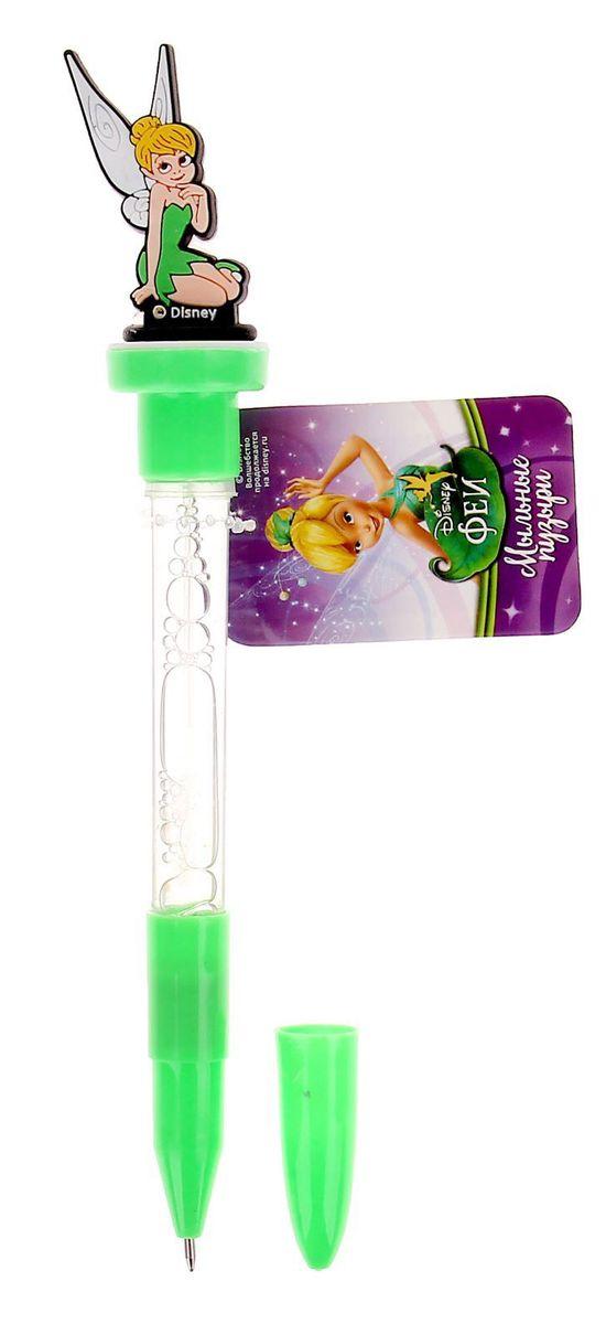 Disney Мыльные пузыри ручка с печатью и светом Феи 10 мл + игрушка