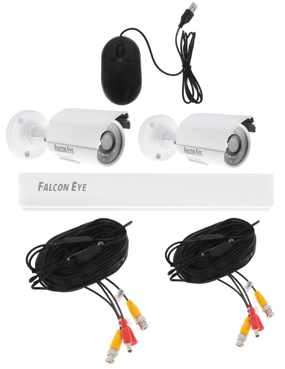 Falcon Eye FE-104AHD Kit Light комплект видеонаблюдения - Системы видеонаблюдения
