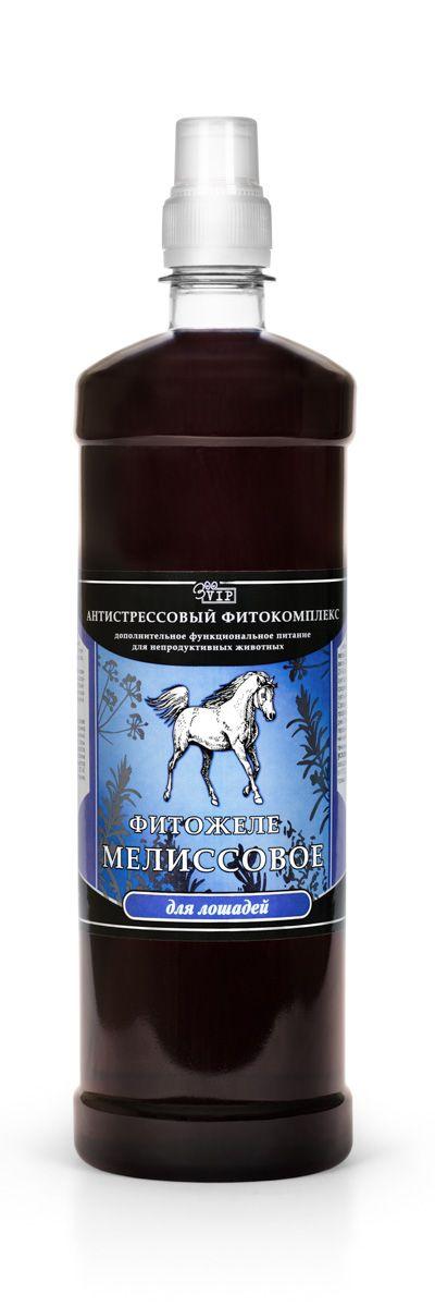 Антистрессовый фитокомплекс для лошадей VEDA Фитожеле мелиссовое, 1 л железо для лошадей украина