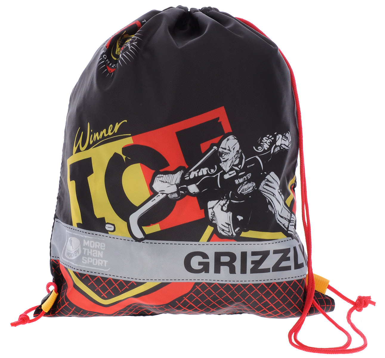 Grizzly Мешок для обуви More Than Sport grizzly мешок для сменной обуви om 770 5 1