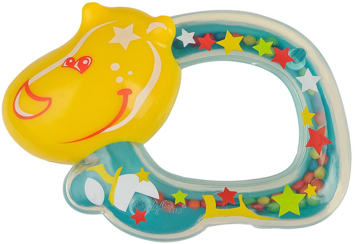 BabyOno Погремушка Бегемотик ночники babyono ночник с колыбельными baby бегемотик