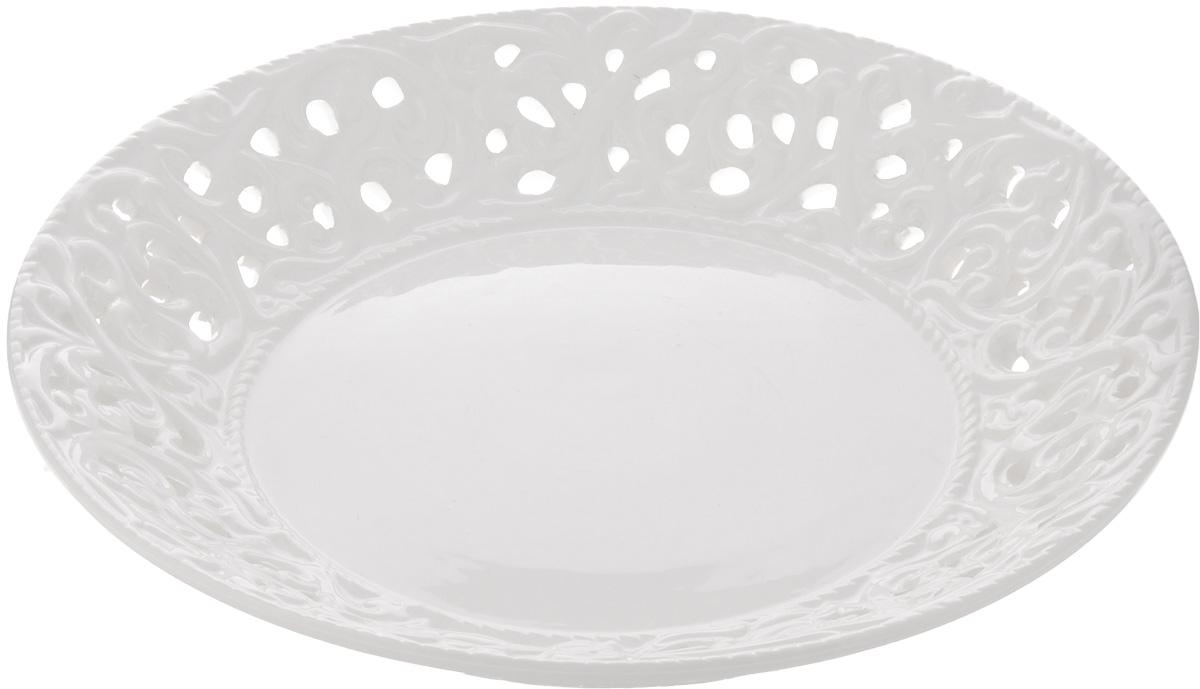 Блюдо Mayer & Boch, диаметр 23 см23803Блюдо Mayer & Boch изготовлено из доломита. Многоступенчатый высокотемпературный обжиг, двухстороннее глазурование, превращая его практически в камень, при этом защищая поверхность от царапин. Красочность оформления придется по вкусу тем, кто предпочитает утонченность и изящность. Такое блюдо украсит сервировку праздничного или обеденного стола и подчеркнет ваш безупречный вкус. Рекомендуется мыть в теплой воде с применением мягких моющих средств.Диаметр блюда (по верхнему краю): 23 см.