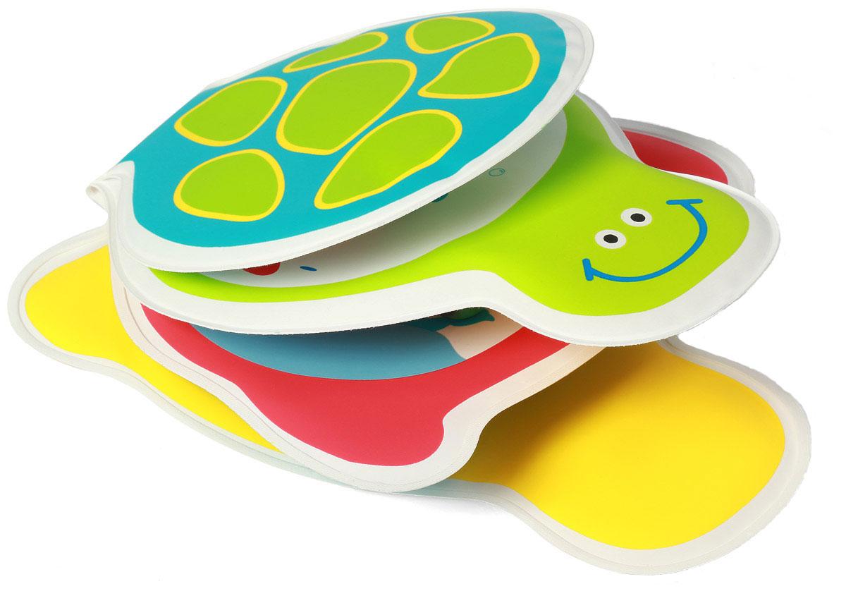 BabyOno Книжка-игрушка Черепашка babyono игрушка пищалка babyono овечка с прорезывателем