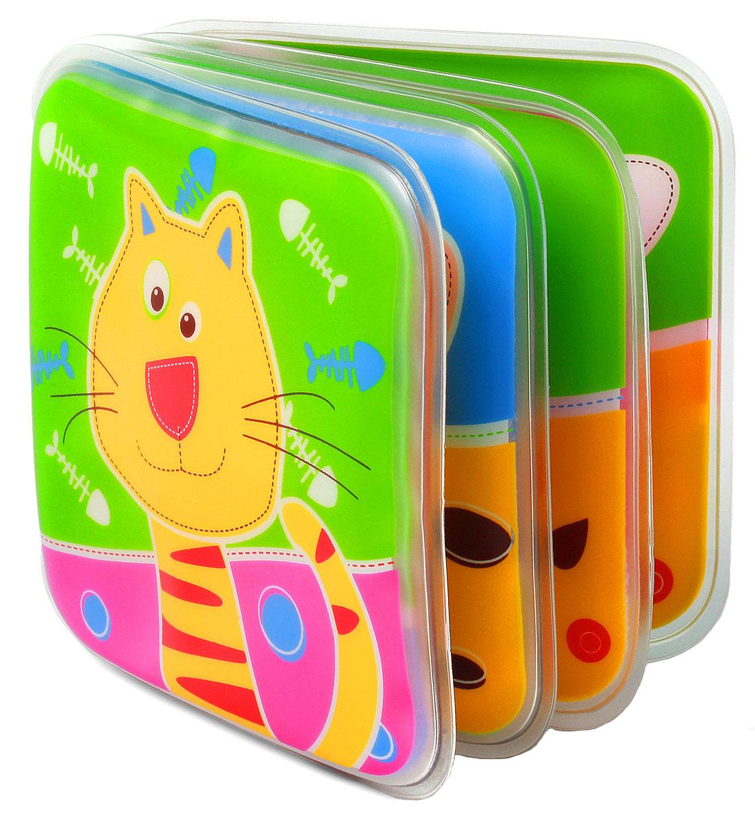 BabyOno Книжка-игрушка babyono игрушка пищалка babyono овечка с прорезывателем