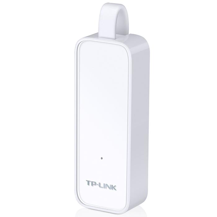 TP-Link UE300 сетевой адаптерUE300Сетевой адаптер TP-Link UE300 USB 3.0/Gigabit Ethernet позволит подключать ваш Ultrabook, Maсbook Air или ПК к гигабитной сети Ethernet с помощью порта USB 3.0. Устройство обладает обратной совместимостью с USB 2.0/1.1 и обеспечивает невероятно быструю передачу данных через порт Ethernet.